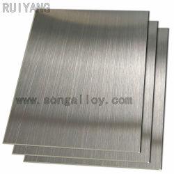 301 304 316 Folha de aço inoxidável em stock