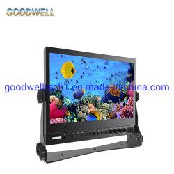 3G-SDI Moniteur LCD 13,3 pouces pour la radiodiffusion