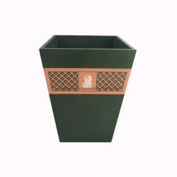Hotel Casa de Banho laca verde à prova de água da bandeja de resíduos