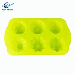 FDA & LFGB Gummi Schönheit Lady Form Silikon Ice Cube Tablett