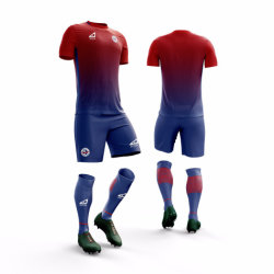Douane Ization voor het In het groot Hete Voetbal Jersey van het Ontwerp van de Verkoop