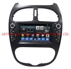 Peugeot 206のための6.2inch人間の特徴をもつAutoradio GPSの単位