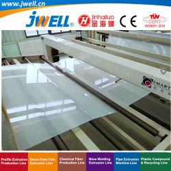 Jwell-EVA Extra-Width insonorisées|étanche en plastique du rouleau de la machine de recyclage de feuille de faire l'Extrusion