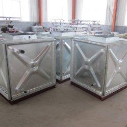 Réservoir de stockage de l'eau en acier galvanisé l'isolement