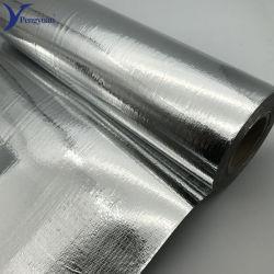Materiale di isolamento riflettente rivestito tessuto del Mylar del di alluminio del tessuto altamente
