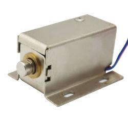 すべての銅のコイルの電気ボルトロックのロッカーシリンダー家具のハードウェアのキャビネットドアロックに金属をかぶせなさい