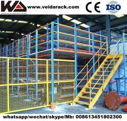 Entrepôt de stockage Rack multi plate-forme de niveau de l'acier