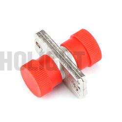 Fibre optique FC à FC Sm Simplex adaptateur fibre optique de métal