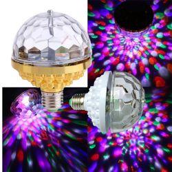 Светодиод этапе Полноцветный вращающийся фонарь 3Гранулы белого цвета 3W/6W 85-265V гарантия 3 лет IP44