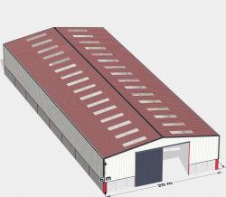 2020 a garantia de qualidade Fábrica Venda Direta Prefab Construções prefabricadas Peb Warehouse Estrutura de aço com certificado CE