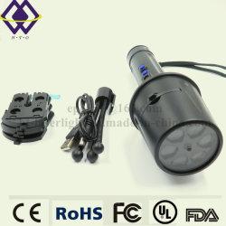 Torcia istantanea elettrica tattica ricaricabile chiara luminosa potente dell'OEM LED