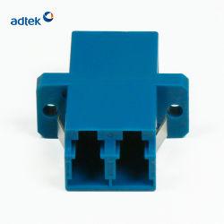 Suministro de la fábrica buena repetibilidad LC Duplex Adaptador para el bastidor de la distribución de fibra óptica