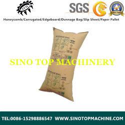 Les machines de faire les sacs en papier pour l'utilisation de conteneurs
