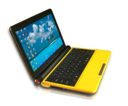 X1001-10 Netbook polegadas