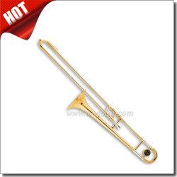 金のラッカーBbのキーの黄色の真鍮のスライドALTOトロンボーン(TB9001G)