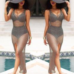 Le crochet s'habiller les femmes Vêtements de plage pour Sdummer vacances !