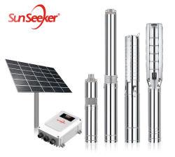 4 pompa solare del regolatore del pozzo profondo MPPT di CC di pollice della pompa ad acqua di agricoltura dell'acqua elettrica sommergibile dell'azienda agricola dal fornitore della Cina