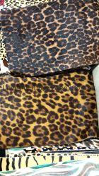 La fourrure chouette Pattern vache veau de cheveux de la peau d'impression Masquer respirant Doublure en cuir véritable pour les chaussures/Matériels supérieur/sacs en tissu de meubles ou de matériel