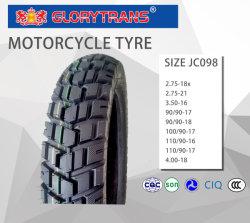 Jc098 기관자전차 타이어 또는 타이어 (2.50-17) 기관자전차 예비 품목 타이어