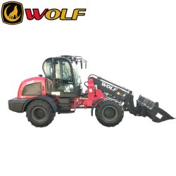 Wolf 2500kg TL2500 CE carregadora de rodas Telescópico telescópica com Joystick Eletrônico