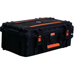 500W 솔라 윈드 생성기(백업 리튬 배터리 포함) 220V AC 캠핑 출력