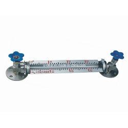 Monitoramento do nível do tanque lateral ordinário de teste do medidor do nível do tubo de vidro