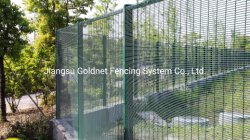 تصميم مطلي بالمسحوق حديقة فريدة من نوعها لفولاذ معدني ملحومة مغلفن شبكة اتصالات سلكية شبكة لوحة سور الأمان