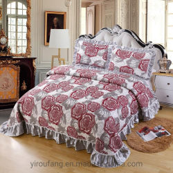 Venta caliente suave cubierta ligera de lujo colcha cama Ropa de cama de terciopelo