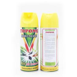 Toponeのブランド400mlの熱い販売の害虫駆除のスプレーの反カのスプレーのInsecitcideのスプレー