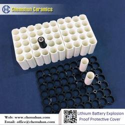 18650 de Ceramische Koker van de Bescherming van de Veiligheid van de batterij van Keramiek Chemshun
