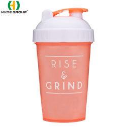 500ml Sports en plastique coloré Shaker bouteille d'eau (HDP-0347)