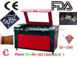 machine de découpage à gravure laser avec le CO2 Lawer Tube (QX-1290)