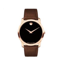 모바두 디자인 유럽 멘스 캐주얼 패션 드레스 럭셔리 쿼츠 보기 손목 시계