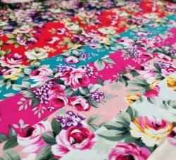 Prodotto stampato disegno normale intessuto cotone di modo 100 nuovo per la tessile domestica