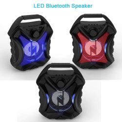 공장 도매 휴대용 오디오 Bluetooth 스피커 이동 전화 스테레오 스피커를 위한 주문 베이스 주위 Subwoofer 사운드 박스 무선 휴대용 Bluetooth 스피커