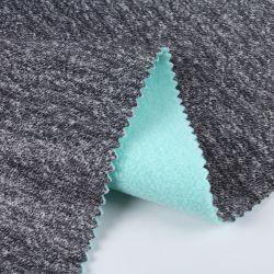 Tecido composto/100%teia de poliéster de tricotar tecido camurça colados tecidos Sherpa
