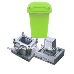 Im Freien große Abfall-Dosen-Spritzen Wastebin Plastikform