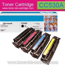 Cartouche couleur pour HP CC530A, CC531un CC542A, CC543a