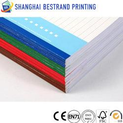 طباعة مخصصة لدفتر التمارين Softcover Paperback من OEM مع تجليد مثالي