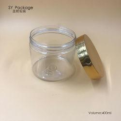 89мм 400мл Пэт пластиковый пакет косметического слоя сливок кувшин блендера с УФ-Gold винты с головкой