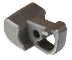 La precisión de piezas de fundición de acero al carbono hecho personalizado para la construcción de la máquina