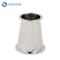 Santhai 3A, DIN, SMS IDF de Aço Inoxidável Alimentar sanitárias SS304 SS316L forjados apertadas Redutor de conexão do tubo tubo concêntrico
