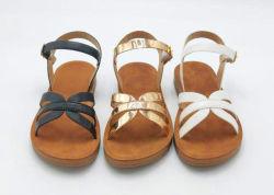Pas het Hete Verkopende Strand Vlakke Sandals van de Zomer van Vrouwen Dame aan Shoes