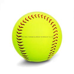 На заводе популярных высокое качество индивидуальный логотип официальные белого и желтого цвета бейсбольные обучение софтбол спортивных мероприятий на улице оборудования шаровой опоры рычага подвески
