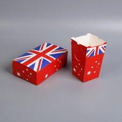 도매 고품질 사용자 정의 인쇄 종이 음식 / 피자 / 케이크 / 쿠키 / 도넛 / 과일 / 와인 선물 카프트 마분지 종이 상자 포장 보관 상자(창 포함)