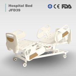 Emergency medizinisches Universalhaus/medizinisches/Klinik-Sorgfalt Drei-Funktionen automatisches elektrisches Krankenhaus-Bett mit Edelstahl im besseren Preis