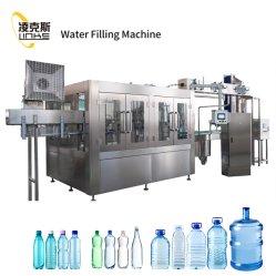10000bph стеклоомыватели, заправка и проверка герметичности в моноблочном исполнении питьевой минеральной воды машина линии