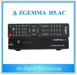 멕시코 또는 미국 새로운 강력한 인공 위성 수신 장치 Zgemma H5. AC 리눅스 OS E2 DVB-S2+ATSC Hevc/H. 265 결합 조율사