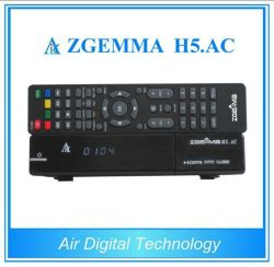 Nova e Poderosa México/América do Receptor de Satélite Zgemma H5. AC SO Linux E2 DVB-S2+Hevc ATSC/H. 265 Sintonizadores Combo