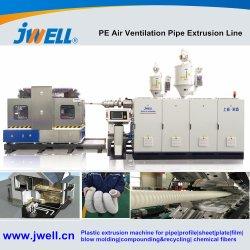 空気換気PVC PU PPのPEのエヴァの適用範囲が広いホースダクト管の機械装置の突き出る機械ラインのための機械